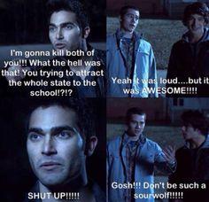 Teen Wolf-Stiles, Derek, & Scott (Dylan O'Brien, Tyler Hoechlin, & Tyler Posey)