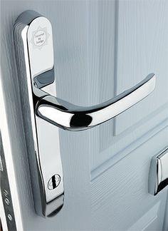 Sleek Fingerprint-Scanning Door Handle Lock ...   Technology ...