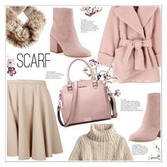 """""""S"""" by stranjakivana on Polyvore featuring Giamba, Carven, Canopy Designs, Sam Edelman, scarf and polyvoreeditorial"""