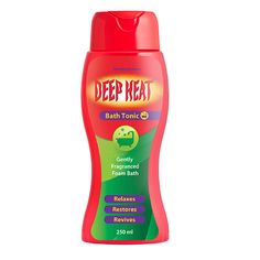Your Content Goes Here Deep Heat Bath Tonic is a gently fragranced, pH balanced, therapeutic foam bath. 6 IN 1 MUSCLE RELIEF: Soothes tired muscles pH balanced Therapeutic Relaxing foam bath Herbal fragrance Aromatic oils Available in 250 ml BUY NOW Wellness Company, Sore Muscles, South Africa, Health And Wellness, Lotion, Herbalism, Fragrance, Deep, Bath
