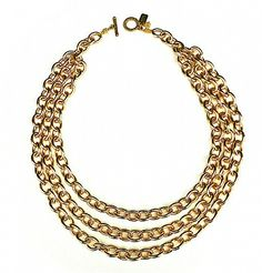 A jewelry basic that every woman should own. Mica Gold Necklace from LiveTheLook.com.