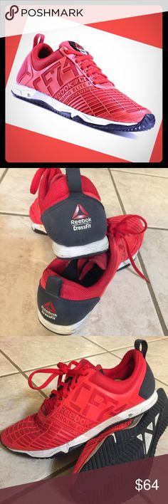 Reebok Nano Sprinter Crossfit shoe Good condition. Perfect for Crossfit or any kind of athletic training. Make an offer, no trades, sold as is. Happy Poshing!!! Reebok Shoes Sneakers