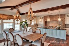 - Overview - Details - Why We Love It - This magnificent eight light chandelier is spectacular on all counts: size, materials and finish. The framework is constructed of wrought iron with applied bent