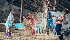 Erlebnisbauernhöfe bringen die Landwirtschaft näher, aber vor allem viel Spass.