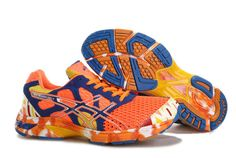 34b52e5e3 Asics Gel Noosa TRI 7 Mens Neon Orange Dark Blue Total Orange Asics Running  Shoes 2013under