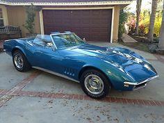 Chevrolet : Corvette Stock 1968 427 Corvette Convertible 4-Speed - http://www.legendaryfind.com/carsforsale/chevrolet-corvette-stock-1968-427-corvette-convertible-4-speed/