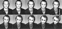 Heath ledger... Joker