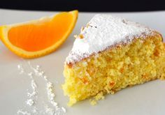 Esta Receta de Torta de Naranja Sin Gluten es la más perezosa del mundo.
