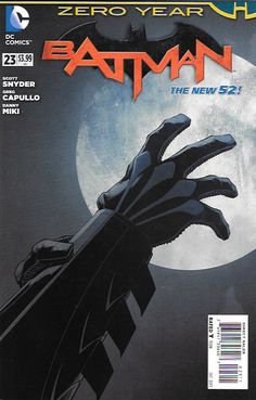 Zero Year: Part 3 : Secret City Part 3/ In The Pit __Written By Scott Snyder, James TynionIV , Art And Cover By Greg Capullo & Rafael Albuquerque , The Story ...Witness the moment Bruce Wayne becomes