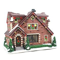 St. Nicholas Square Village Collection Grandma's House - our 2nd piece for our village!