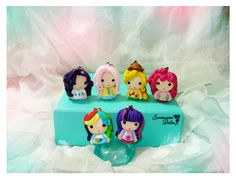 Kawaii My Little Pony Chibi Charms made from polymer clay =)