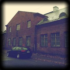 This is the where I'm working right now. A beautiful old filled with studio spaces for Studio Spaces, Artists, Building, House, Beautiful, Home, Buildings, Homes, Construction