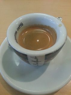 Lovely pour of espresso