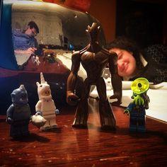 The Increditime #100happydays #100diasfelizes #p3top #portugal #lego #legos #legominifig #legominifigure #minifig #minifigure #miniseries #minifigures #brick #bricks #BreakTheRules #alien #alegoadaykeepsthesadnessaway #unicorn #ciclope #groot #iamgroot #marvel #disney #guardians #guardiansofthegalaxy