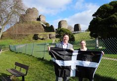 North Cornwall's Liberal Democrat MP Dan Rogerson has welcomed news that the St Piran's flag will be flown from Launceston Castle every day, starting in spring. Description from danrogerson.org. I searched for this on bing.com/images