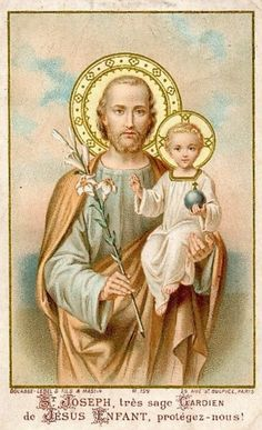 St Joseph Catholic, Catholic Art, Catholic Saints, Religious Art, Catholic Pictures, Religious Pictures, Jesus Pictures, Heaven Art, Jesus E Maria