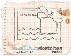 retro sketches : a challenge: retrosketches #55...  Saturday, March 16, 2013