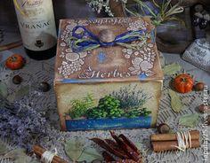"""""""Herbs"""" Короб - корпоб,короб для хранения,короб для кухни,короб для специй"""