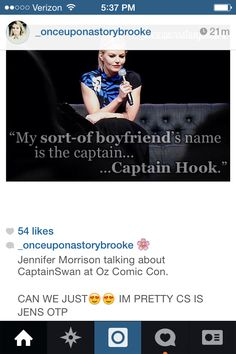 Jen's thoughts on CaptainSwan