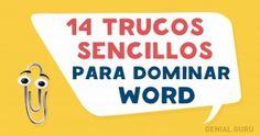 14Trucos sencillos para dominar Word