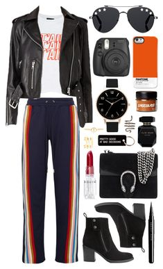 Untitled #1023 by clary94 on Polyvore featuring Topshop, AlexaChung, Gucci, Ileana Makri, Luv Aj, Olivia Burton, Givenchy, Case Scenario, Various Projects and Rodin
