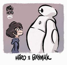 David Gilson: Disney's Big Hero 6 - Hiro & Baymax