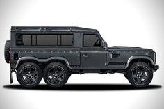 Land Rover Defender Flying Huntsman 6x6 Concept 1