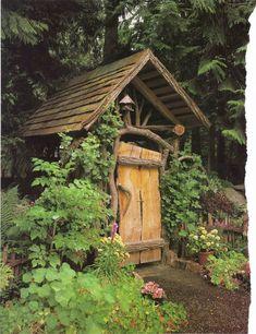 46 Stunning Rustic Garden Gates Ideas - Trendehouse