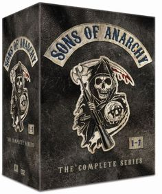 Sons of Anarchy: Complete Box - Kausi disc) - Elokuvat Katey Sagal, Ryan Hurst, Theo Rossi, Charlie Hunnam, Sons Of Anarchy, Film, Books, Movie, Libros