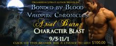 Lynelle Clark Aspired Writer: Book Spotlight: The Bonded By Blood Vampire Chronicles by Arial Burnz. Great prices to win.