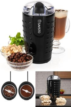 Electric Coffee Grinder Home Kitchen Grinding Tool Mill Nuts Spices Beans Seeds Bean Seeds, Grinding, Nespresso, Home Kitchens, Coffee Maker, Beans, Spices, Electric, Kitchen Appliances