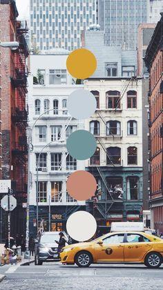 New York City Colour Palette Palette Design, Palette Art, Color Schemes Colour Palettes, Color Trends, Color Psychology, Psychology Memes, Color Palate, Colour Board, Color Stories