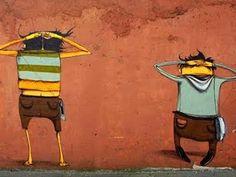 Tatianne: Os gêmeos grafiteiros