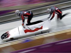 Dawid Kupczyk of Poland pilots a bobsleigh practice run ahead of the Sochi 2014 Winter Olympics at the Sanki Sliding Center. Youth Olympic Games, Bobsleigh, Winter Games, Winter Olympics, Winter Sports, Pilots, Poland, Ski, Draw