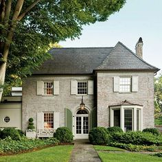 1920's Traditional Charlotte Home From Southern Living Magazine ~rw