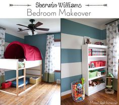 More Like Home: Sherwin-Williams Big Boy Room Makeover & Giveaway!