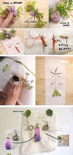 DIY Folk Art Nature Embroidery: Step 5
