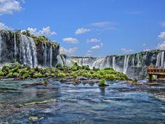 Cataratas Falls - Foz do Iguazu #Brazil |  Photo by - Werner Büchel