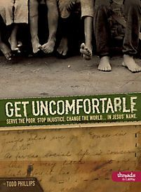 """Get Uncomfortable"" (Member Book) by Todd Phillips. Learn how to serve the poor, stop injustice and changed the world. This book is geared toward young adults. Philippians 4 16, Book Quotes, Life Quotes, Young Adult Ministry, Help The Poor, In Christ Alone, Walk By Faith, Bible Lessons"