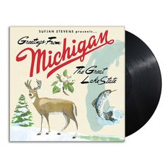 Sufjan Stevens · Michigan · Vinyl 2xLP · Black