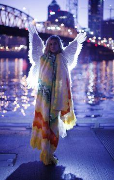 / oooooh you're an angel /by olivia bee /