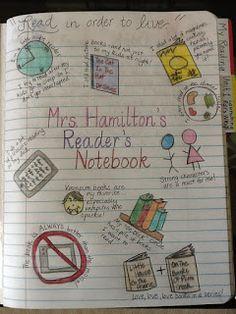 Cafe 1123: Reader's Notebooks