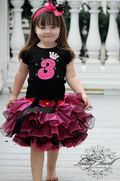 2a7d3f8a9f0b0 Rockin' Princess Bling Birthday Girl Tutu Set-birthday, tutu, set,  personalized