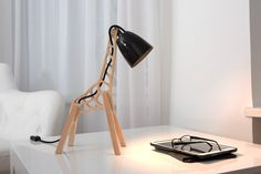 Cool 33 Charming Giraffe Shaped Desk Lamps Design Ideas For Kids Room To Try Art Furniture, Unique Furniture, Kids Lamps, A Table, Table Lamps, Unique Lamps, Room Themes, Lamp Bases, Lamp Design