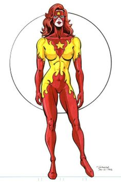 Dc Comics Girls, Marvel Comics Art, Marvel Heroes, Marvel Women, Marvel Girls, Firestar Marvel, Comic Books Art, Comic Art, Phoenix Marvel