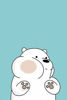 Fondos de pantalla We Bare Bears Wallpapers, Lock Screen Wallpaper, Bear Wallpaper, Cartoon Wallpaper, Cute Pictures, Cool Photos, Bear Paintings, Hello Kitty, Doodles