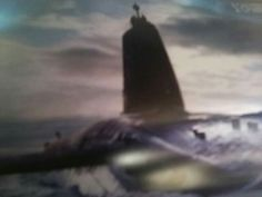 England vanguard class with erasing tone on surface like  armed knight.but my picture is not clear,please see my profile image