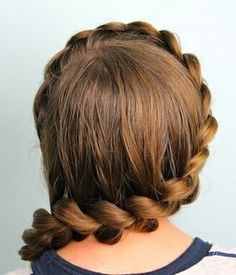 Cute Braided Long Brown Hairstyle » Homecoming Hairstyles