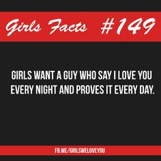 Girls facts discovered by Evelyn C on We Heart It I Love You Words, Reasons I Love You, Why I Love You, My Love, My Heart Quotes, Boy Quotes, Girl Logic, Girly Facts, Like You Quotes