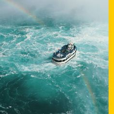 Peering in from the edge at Niagara Falls is awe-inspiring, yet there's another way to absorb their immense power: on the water. Read more: http://on.natgeo.com/2yh5D2y #flights & #hotels #Cruises #RentalCars #mexico #lajolla #nyc #sandiego #sky #clouds #beach #food #nature #sunset #night #love #harmonyoftheseas #funny #amazing #awesome #yum #cute #luxury #running #hiking #flying